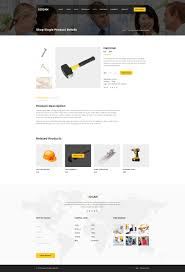 bogan construction building and renovation business psd template