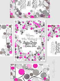 Wedding Invitations With Menu Cards Printable Wedding Signage Poster Package Welcome Sign Favour
