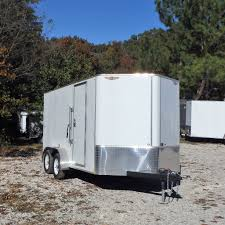 enclosed trailer exterior lights 7x14 tandem axle v nose cargo trailer with smooth rivetless exterior