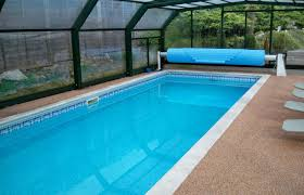 Swimming Pool Canopy by Charming Iron Frame Pool Shade Over Modern Rectangular Pool Added