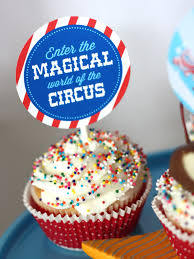Decorate Your Own Cupcake Enter The Magical World Of The Circus
