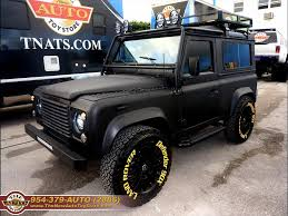 land rover defender black 1997 land rover defender 90 black rhino