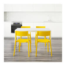 Yellow Kitchen Table And Chairs - melltorp janinge table and 4 chairs ikea