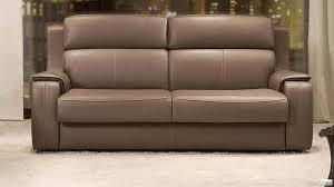 canape lit en cuir canapé lit cuir style contemporain canapé lit convertible