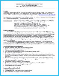 Sample Resume Youth Counselor by Sample Counselor Resume Free Resume Example And Writing