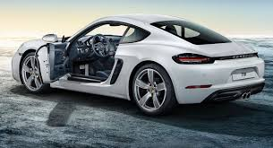 porsche cayman silver porsche exclusive u0027s enhancements for 718 are subtly effective