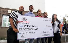 footlocker black friday dr phillips senior sydney capers presented with foot locker