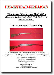 67 1900 1902 1904 58 59 60 models winchester bolt action