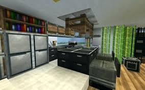 Minecraft Kitchen Furniture Minecraft Kitchen Traditional House Minecraft Modern Kitchen