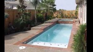 outdoor amazing small inground pools for modern backyard design