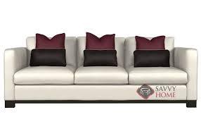Leather Blend Sofa Lanai By Bernhardt Interiors Leather Sofa By Bernhardt Is Fully