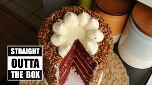 how to make an easy red velvet cake from a box become a baking