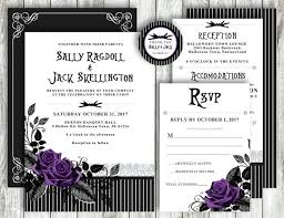 9 best nightmare before wedding invitations images on