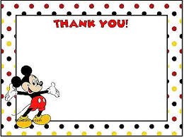mickey mouse thank you cards thank you cards new baby mickey mouse thank you cards baby