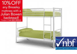Atlas Bunk Bed Julian Bowen Atlas Bunk Beds In White And Now To Bed