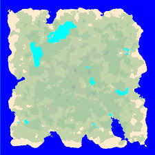 Biomes Map Procedural Island Generation