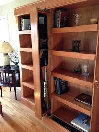 Plans For Gun Cabinet Bookcase Hidden Bookcase For Living Room Hidden Bookcase Door