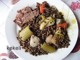 recette de cuisine plat recette de plat de côtes aux lentilles