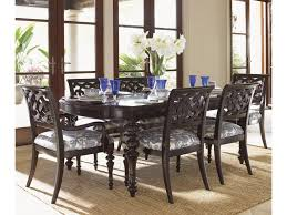 tommy bahama home royal kahala seven piece islands edge dining