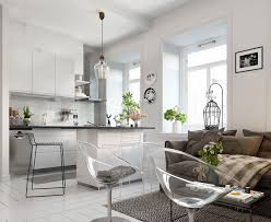 one bedroom apartments bright scandinavian decor in 3 small one bedroom apartments