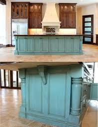 Landmark Kitchen Cabinets by Painted Kitchen Island With Stained Cabinets Farrow Ball Paint