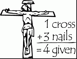 awesome printable crosses clip art with cross coloring pages