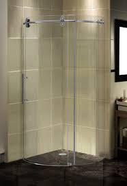Curved Shower Bath Shower Excellent Bathroom Decor Lyons Shower Base Install