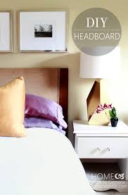 Headboard Made From A Door Remodelaholic How To Turn A Door Into A Stylish Headboard