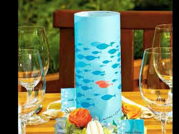 Beach Wedding Centerpieces Beach Wedding Centerpieces And Decorations Youtube
