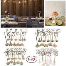 table numbers for wedding wedding table numbers ebay