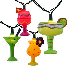 mixed drink clipart cocktail drinks party string lights