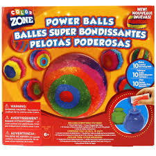 color zone bouncing ball kit