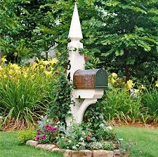 23 best mailbox post ideas images on mailbox post