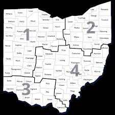 Urbana Ohio Map by Regions U2013 Association Of Ohio Commodores