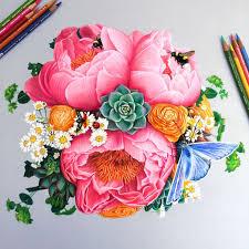 Rose Flower Design Best 25 Flower Drawings Ideas On Pinterest Pretty Flower