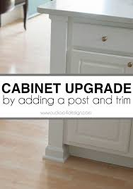 How To Install Kitchen Cabinet Crown Molding Best 25 Kitchen Cabinet Molding Ideas On Pinterest Updating