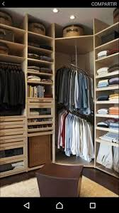 Best Closets Vestidores Images On Pinterest Dresser - Bedroom storage designs