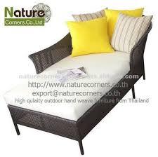 Single Sofa Bed Outdoor Patio Rattan Wicker Single Sofa Bed Buy Single Sofa Bed