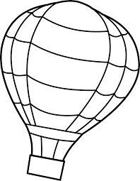air balloon coloring pages free large images projects to