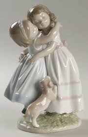 lladro sounds of fall bell figurine 5955 mint no box lladro