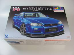 nissan skyline 2001 nissan skyline gt r r34 z tune aoshima car model kit com
