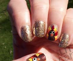 24 nail art designs for thanksgiving nails in pics