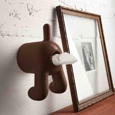 d dog toilet tissue paper holder gadget flow