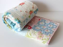 shabby chic baby quilt country cottage cottage nursery