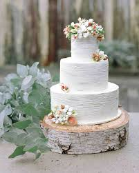 wedding cake rustic 23 festive winter wedding cakes martha stewart weddings