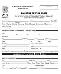 46 incident report samples