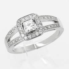 bagues de fian ailles bague de fiançailles et solitaire diamant tellor