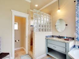 Glass Block Bathroom Ideas by Glass Block Shower Design Ideas U0026 Pictures Zillow Digs Zillow