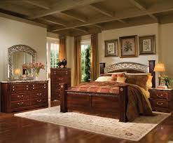 Standard Furniture Triomphe  Piece Poster Bedroom Set - 7 piece bedroom furniture sets