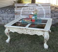 White Distressed Wood Coffee Table Shabby Chic Coffee Table Paint Redo Hometalk